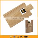 ECO friendly credit card shape usb memory stick 1-64gb                                                                         Quality Choice