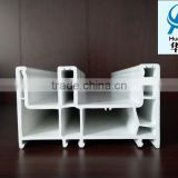 factory selling horizontal casement/sliding plastic steel profile/upvc profile for window and door manufacturing
