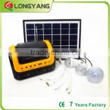 Portable 5W solar energy kit with FM MP3 player 5W led bulb made in china                                                                                                         Supplier's Choice