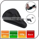 Bicycle Seat Cushion Waterproof Soft Silicone Gel with 3D Bike Seat Cover for Bicycle Saddle