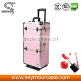 Wholesale Cosmetic Trolley Containers Makeup Bag Beauty Case