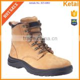 Water proof wheat nubuck leather upper industrial safety shoes                                                                         Quality Choice