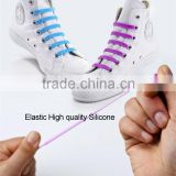 Elastic High quality Silicone V-tie shoelace
