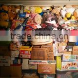 Stuffed toy along with baby product and plastic toy by 40 FT HQ container exported from Japan TC-009-07