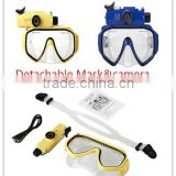 hot sale scuba diving equipment for sale in china diving mask camera low volume free dive mask                                                                         Quality Choice