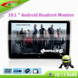 2016 Hot Sale 3G/WIFI 10.1inch android tablet car headrest monitor                                                                         Quality Choice
