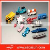 New Creative Custom PVC transportation Usb Stick Flash Drive                                                                         Quality Choice