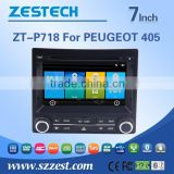 car cassette and cd dvd and gps for peugeot 405 with GPS/Bluetooth/Radio/SWC/Digital TV/3G internet/WIFI/ATV/DVR