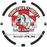 new sticker ceramic poker chips