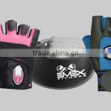 Fitness Equipment Gear Weight Lifting Gloves Weight Lifting Leather Belts Neoprene Fabric Belts Wrist Bands
