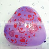 customized printed heart balloons /baloons/ballons