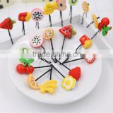 Wholesale Mix Styles Fruit Headdress Baby Kids Children Girls Hair Pin