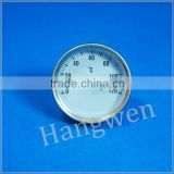 40mm small Boiler Pipe Bimetal thermometer