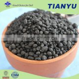 Bulk organic fertilizer blending plant