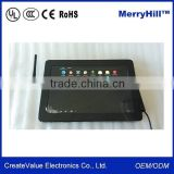 Replacement screen 10, 12, 14, 15, 17, 19, 21.5 Inch Touch Screen Metal Frame Tablet Android 4.2