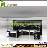 rolex watch display kiosk/showcase/stand,watch glass display cabinet