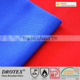 87% Cotton /12% Nylon /1% Antistatic waterproof fire resistant fabric 260 gsm Satin 4/1 FR protective clothes