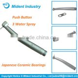 Japanese Ceramic Bearings Dental High Speed Handpiece Push Button, Top Quality Dental Handpiece