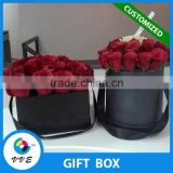 High Quality Cardboard Round Flower Cap Box/ Hat Box For Flowers