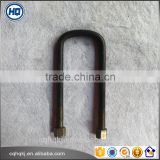 Black Oxide Hot Sale High performance Heat Treatment TUV Certified Anchor front U-Bolt for Hino