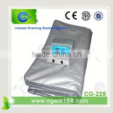 CG-228 HOT!!! far infrared heating portable sauna blanket slimming infrared blanket professional beauty equipment
