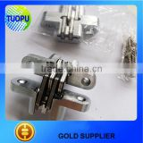 Furniture hardware 304 stainless steel invisible hinge,28x118mm wood door invisible hinge for factory price