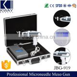 Painless microneedle mesogun facial mesotherapy gun for skin injection.
