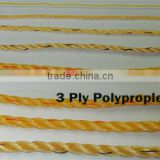 many size Braided Polypropylene poly rope 100% sailing yacht boat PP line cord
