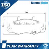 6197738/5028763/92VB2K021AC Brake Pads No Noise, For Ford TRANSIT Van Break Pads