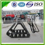 Farm using movable water cooled diesel engine and hydraulic system Ginger Combine Harvester