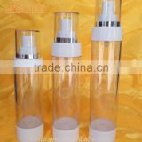 PP plastic cream airless bottle water mist pump spray airless
