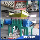 used industrial shredders/industrial wood paper cardboard waste plastic shredder for sale