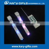 led nylon bracelet remote controlled/illuminated RFID wristband/DMX bracelet groups