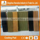 Heracles trade assurance poultry farming equipment evaporative cooling pad and exhaust fan greenhouse cooling system