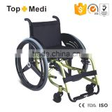 Topmedi New Product Handicapped Equipment carbon fiber leisure sport wheelchair for disabled