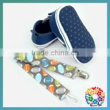 Comfortable Navy Sole Baby Shoe/Infant Newborn Shoes With Pacifier Clip/First Walker Shoes For Toddlers