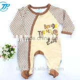 Winter Collection Organic Baby Clothes New Born Baby Winter Romper Knitted Bodysuits For Boys BR1-301