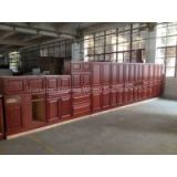 China Manufacturer K.D Wooden Bath Cabinet / Kitchen Cabinet / Factory of Solid Wood Furniture / Custom Service Home Furniture
