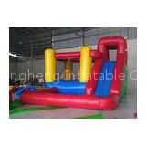 Durable PVC Material Inflatable Bounce House For Rent / Home / Backyard