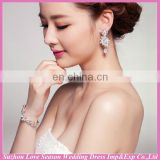 WS0004 wedding party bridal silver hand chain fashion design