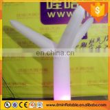 Durable Inflatable Decoration with LED Light/Indoor inflatable decorative wedding lighting/inflatable lighting pillar