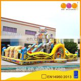 AOQI most popular robot theme park inflatable fun city