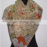 ladies' fashion chiffon shawl