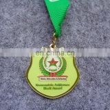 Fashion Cheap Award Custom Zinc alloy High quality medal with a pattem back