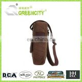 Wholesale Durable Canvas Bottle Bags
