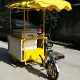 Solar Freezer with Tricycle