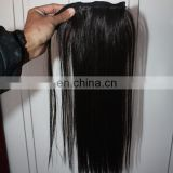 Factory big stock wholesale blonde human hair ponytail