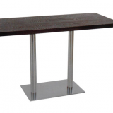 Modern Classic Design Restaurant Table with wood table top