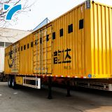 Professional Semi-Trailer Landing Leg Box Transport Semi Trailer Cargo Truck