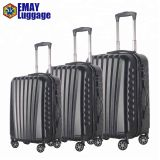 2019 Top sale 3 piece elegant, durable carry on luggage set